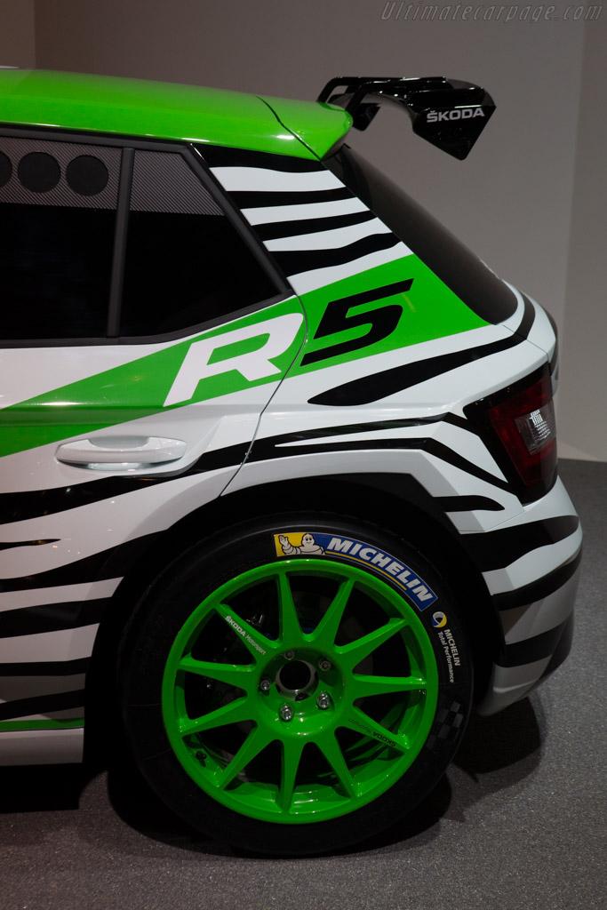 Skoda Fabia R5    - 2014 Essen Motor Show