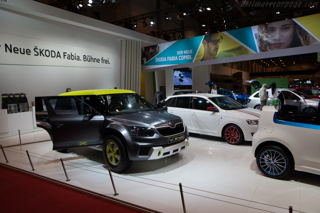 Skoda Yeti Xtreme    - 2014 Essen Motor Show