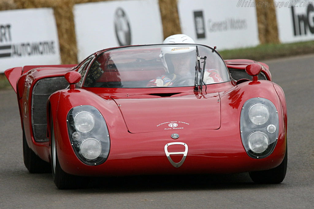 Alfa Romeo Tipo 33/2 Daytona Coupe - Chassis: 75033.012   - 2007 Goodwood Festival of Speed