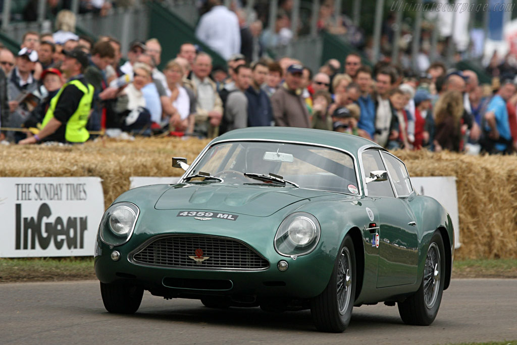 Aston Martin DB4 GT Zagato - Chassis: DB4GT/0184/R   - 2007 Goodwood Festival of Speed