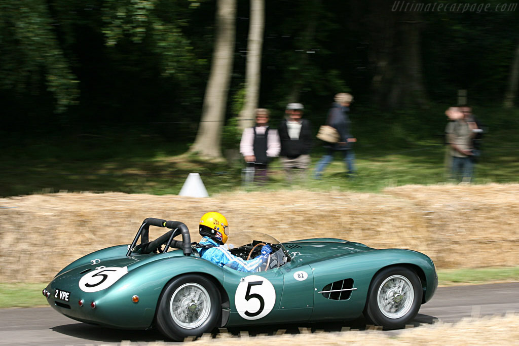 Aston Martin DBR2 - Chassis: DBR2/1 - Entrant: Anthony Bamford - Driver: Jean-Marc Gounon  - 2007 Goodwood Festival of Speed