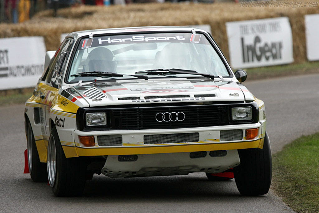 Audi Sport Quattro S1    - 2007 Goodwood Festival of Speed