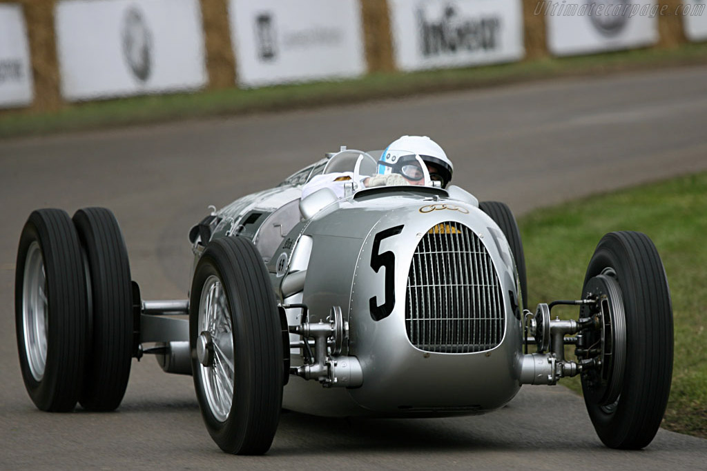 Auto Union Type C    - 2007 Goodwood Festival of Speed