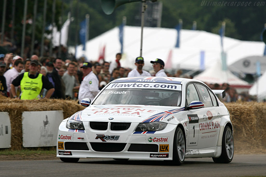 BMW 320si WTCC    - 2007 Goodwood Festival of Speed