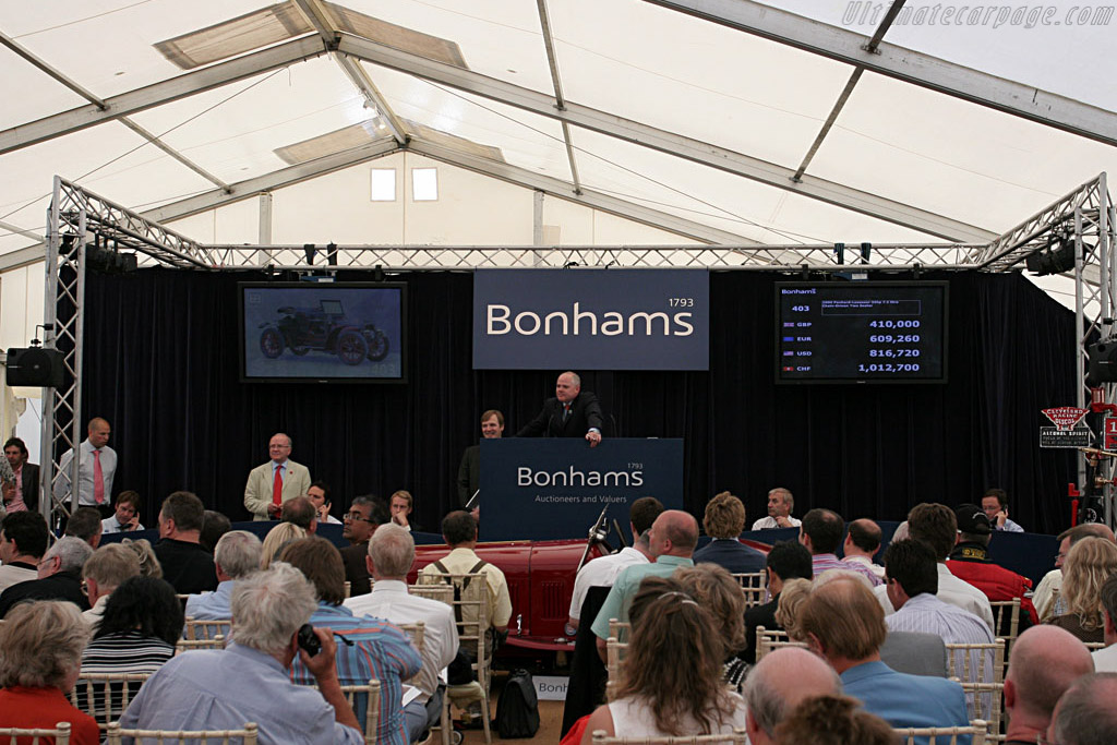 Bonham's Auction    - 2007 Goodwood Festival of Speed