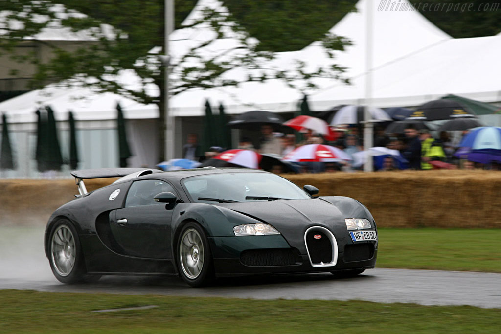 Bugatti 16.4 Veyron    - 2007 Goodwood Festival of Speed