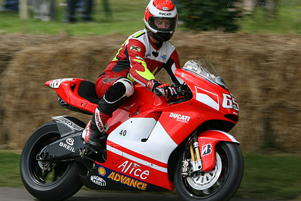 Ducati Desmosedeci    - 2007 Goodwood Festival of Speed