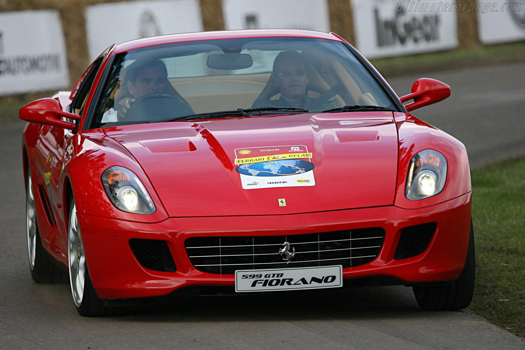 Ferrari 599 GTB    - 2007 Goodwood Festival of Speed