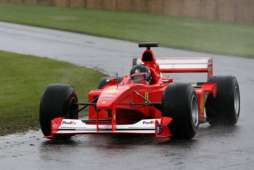 Ferrari F1-2000 - Chassis: 203   - 2007 Goodwood Festival of Speed