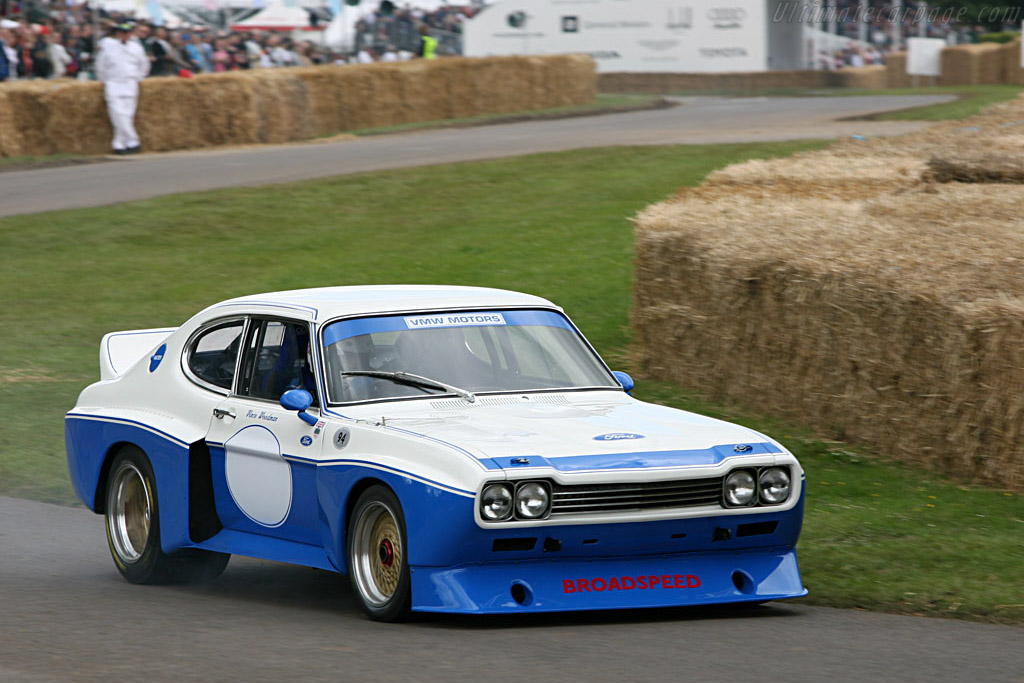 Ford Capri RS - Chassis: BFC 002   - 2007 Goodwood Festival of Speed
