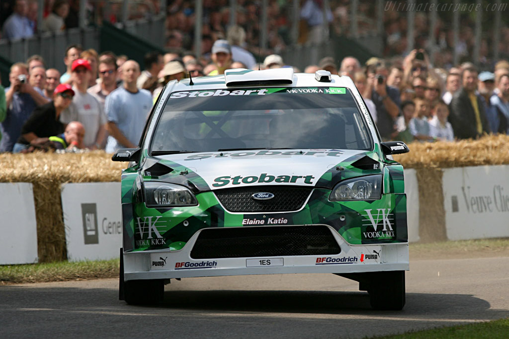 Ford Focus WRC    - 2007 Goodwood Festival of Speed