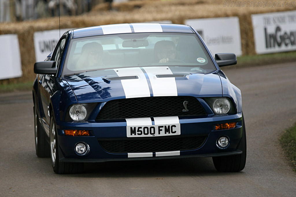 Ford Mustang GT500    - 2007 Goodwood Festival of Speed