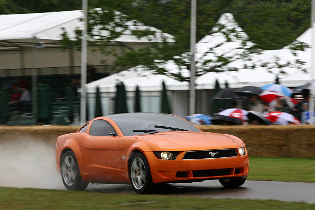 Ford Mustang Giugiaro    - 2007 Goodwood Festival of Speed