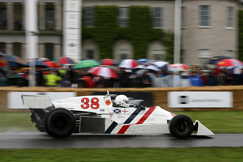 Hesketh 308C Cosworth    - 2007 Goodwood Festival of Speed