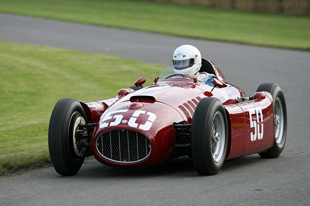 Lancia D50A    - 2007 Goodwood Festival of Speed