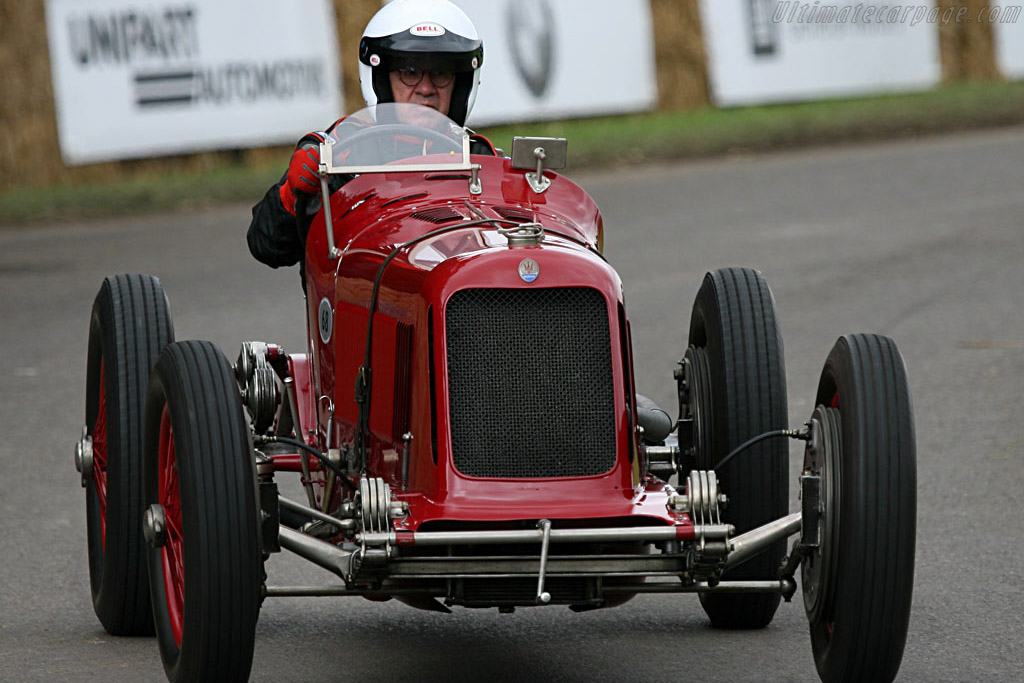Maserati 8CM - Chassis: 3005  - 2007 Goodwood Festival of Speed