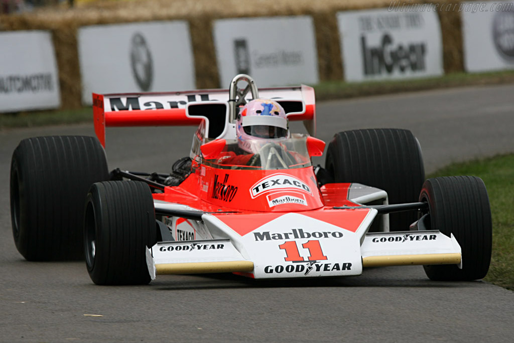 McLaren M23 Cosworth - Chassis: M23-6   - 2007 Goodwood Festival of Speed