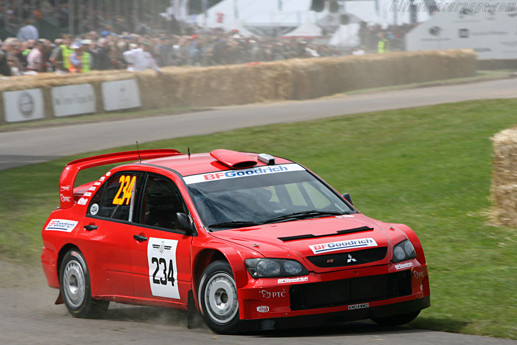 Mitsubishi Lancer WRC    - 2007 Goodwood Festival of Speed