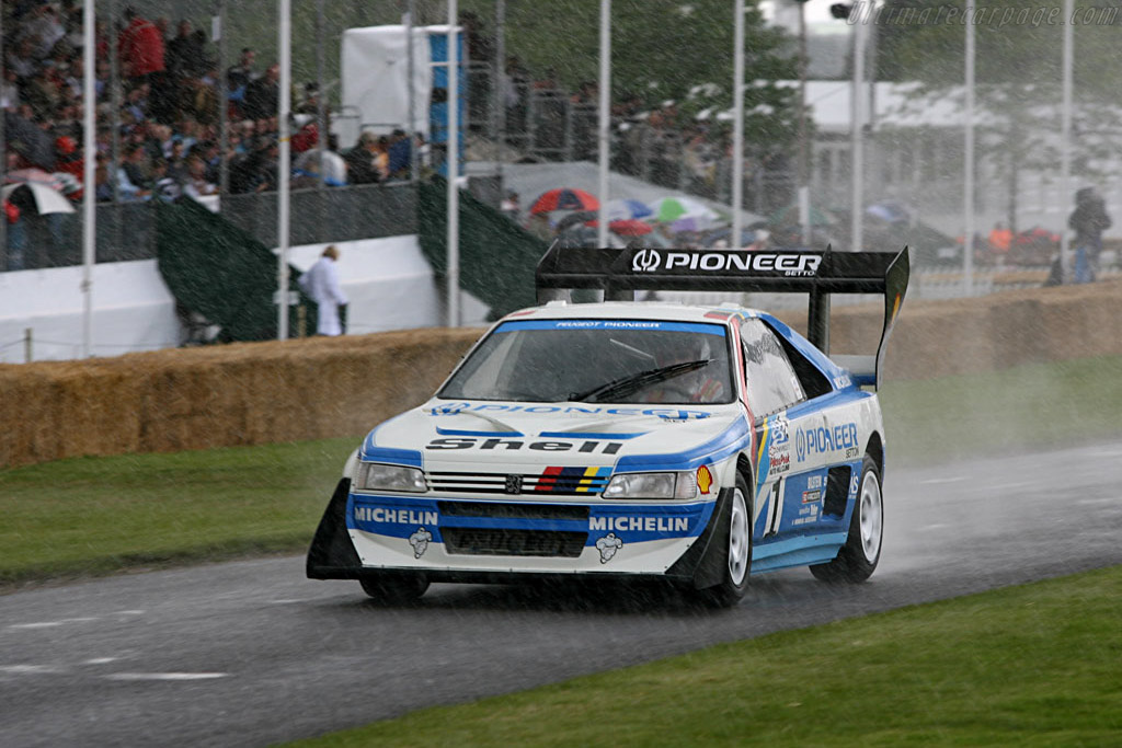 Peugeot 405 T16 GR 'Pikes Peak' - Chassis: 405003   - 2007 Goodwood Festival of Speed
