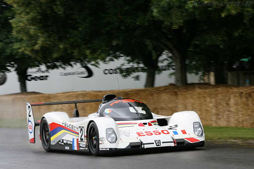 Peugeot 905B - Chassis: EV16   - 2007 Goodwood Festival of Speed