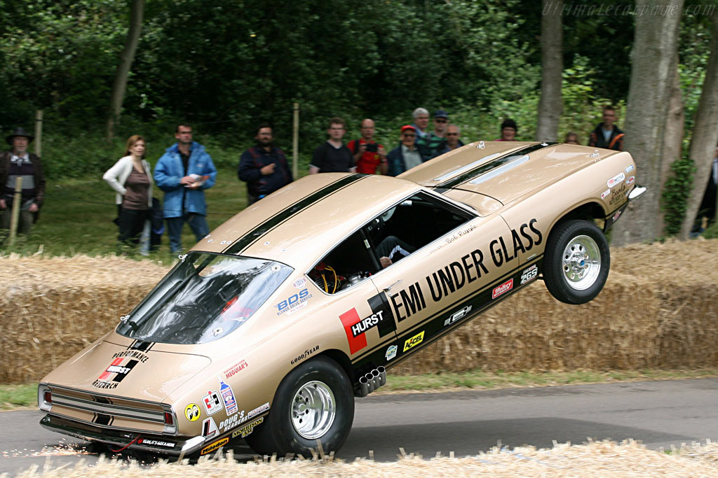 Plymouth Barracuda 'Hemi under Glass'    - 2007 Goodwood Festival of Speed