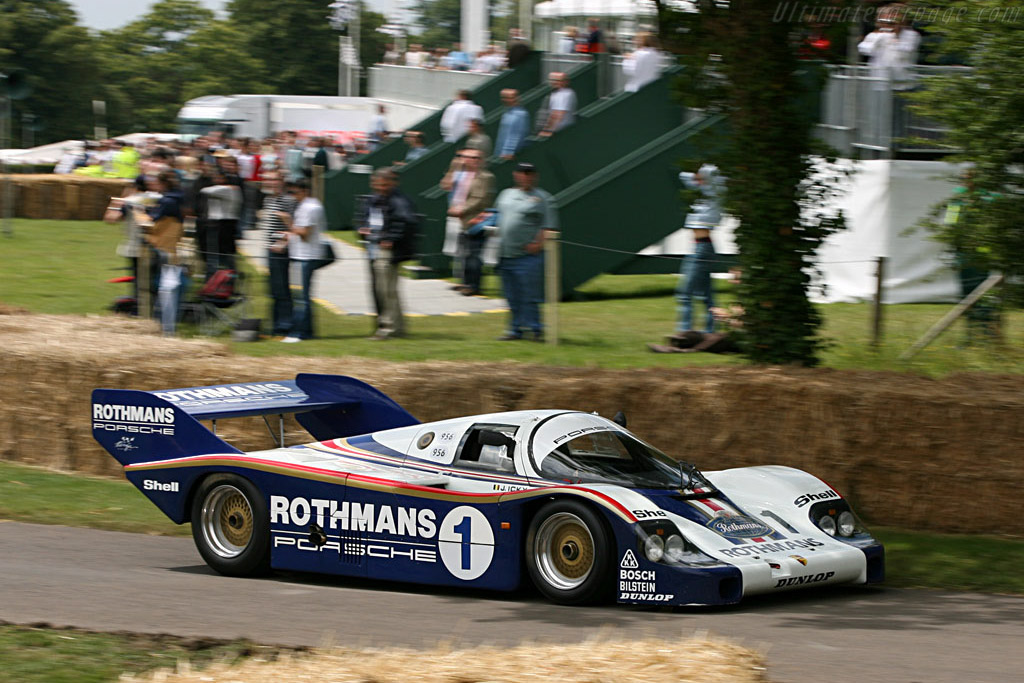 Porsche 956 - Chassis: 956-001   - 2007 Goodwood Festival of Speed