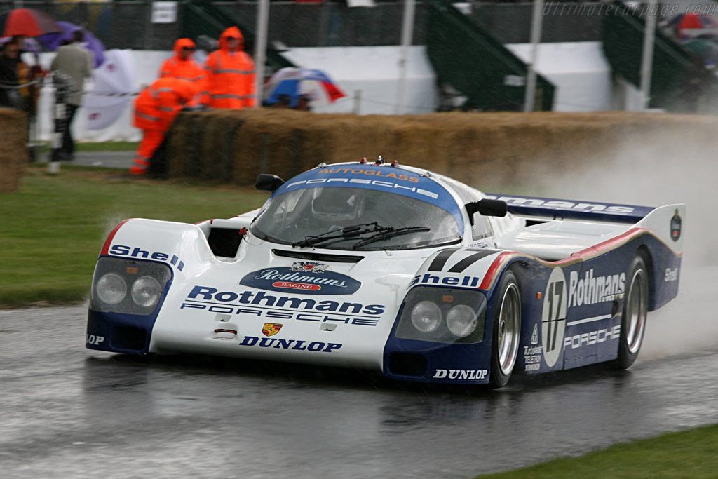 Porsche 962 - Chassis: 962-006   - 2007 Goodwood Festival of Speed