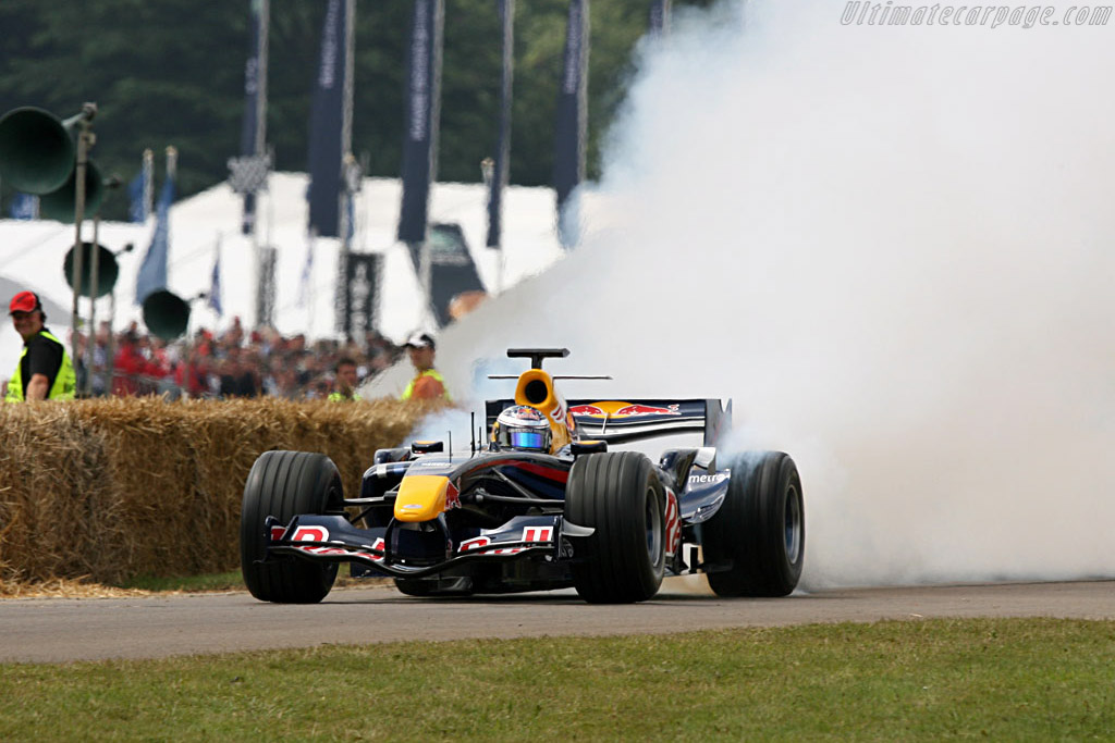 Red Bull RB3 Renault    - 2007 Goodwood Festival of Speed