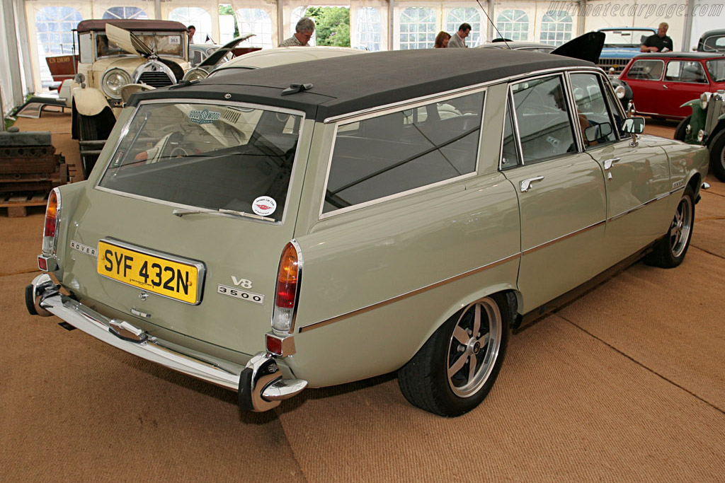Rover 3500 HR Owen Estate - Chassis: 45123659E   - 2007 Goodwood Festival of Speed