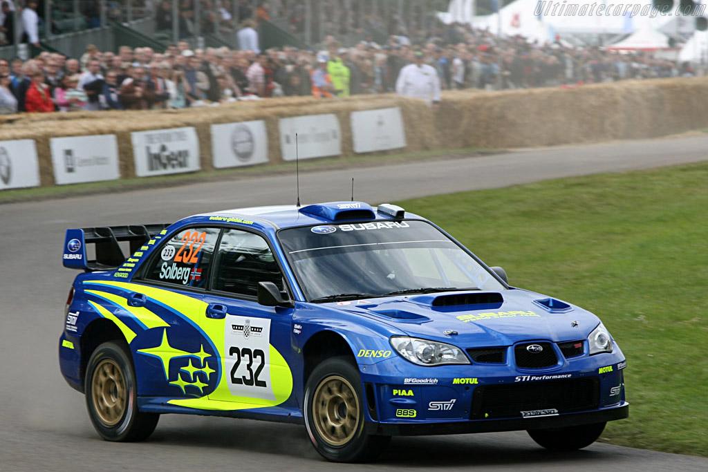 Subaru Impreza WRC    - 2007 Goodwood Festival of Speed