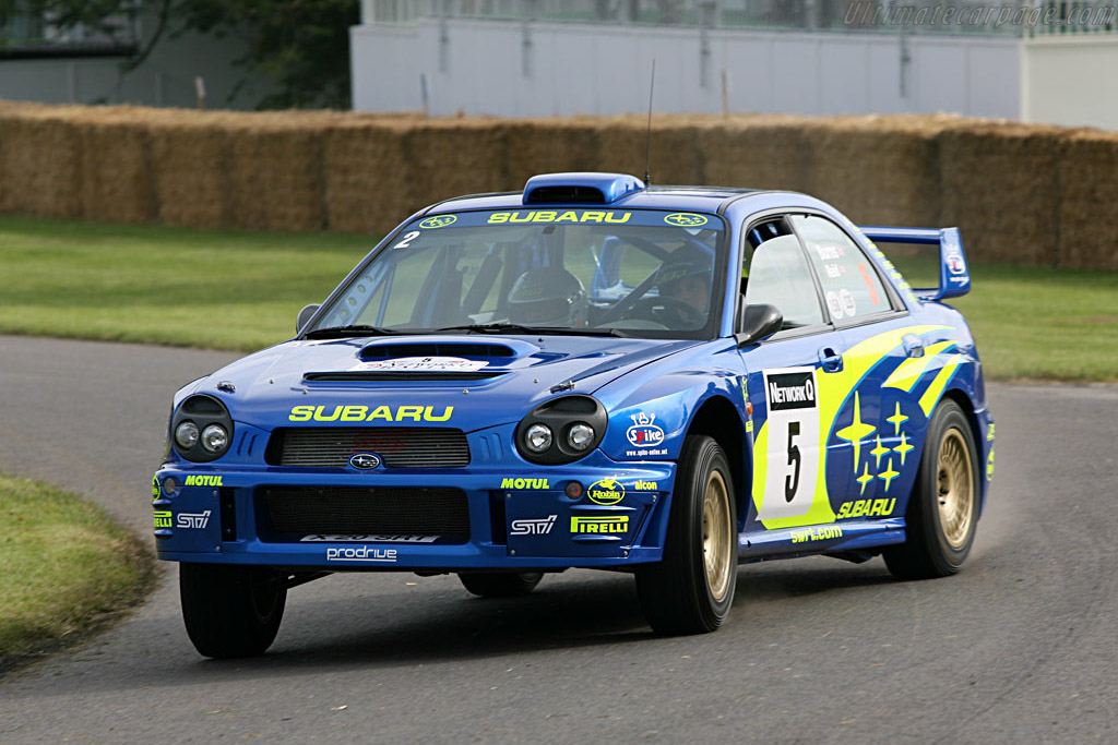 Subaru Impreza WRC    - 2007 Goodwood Festival of Speed
