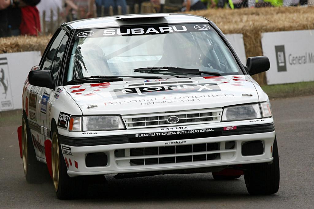 Subaru Legacy WRC    - 2007 Goodwood Festival of Speed
