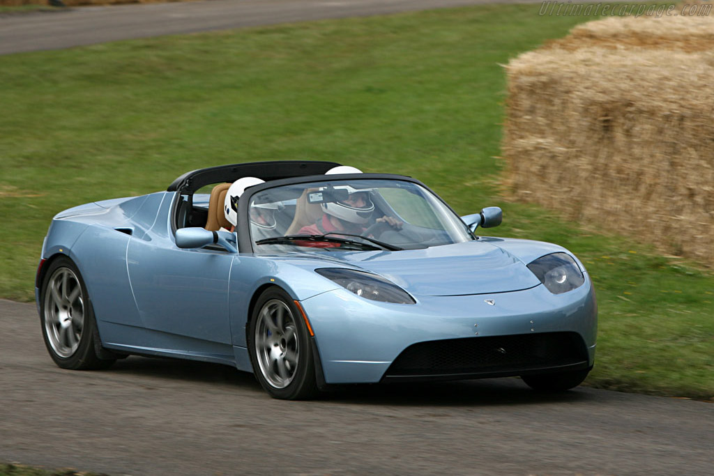Tesla Roadster - 2007 Goodwood Festival of Speed