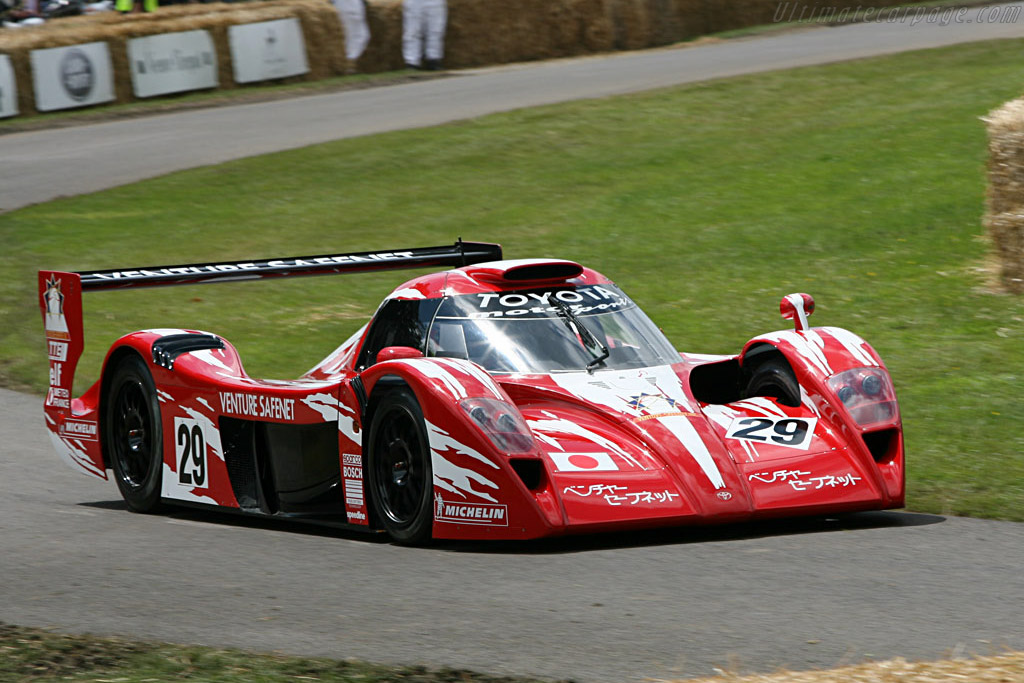 Toyota TS020 GT-One - Chassis: LM802   - 2007 Goodwood Festival of Speed