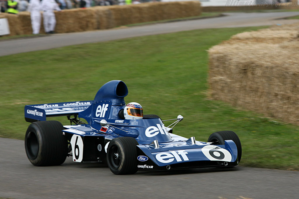 Tyrrell 006 Cosworth - Chassis: 006 - Driver: John Delane - 2007 Goodwood Festival of Speed