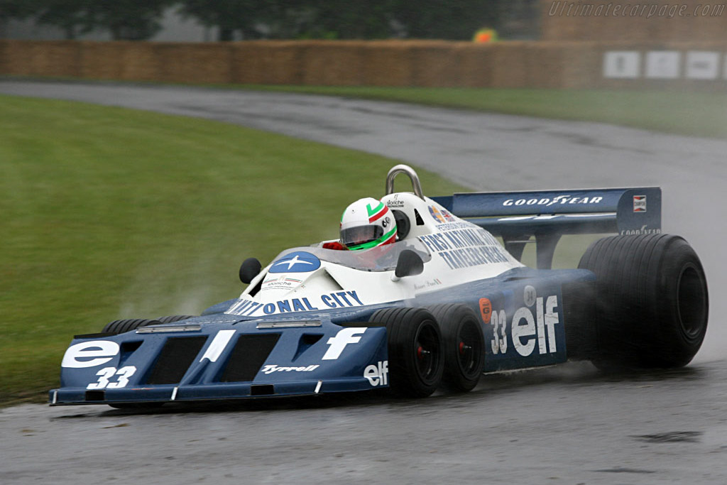 Tyrrell P34 - Chassis: P34/5 - Driver: Mauro Pane  - 2007 Goodwood Festival of Speed
