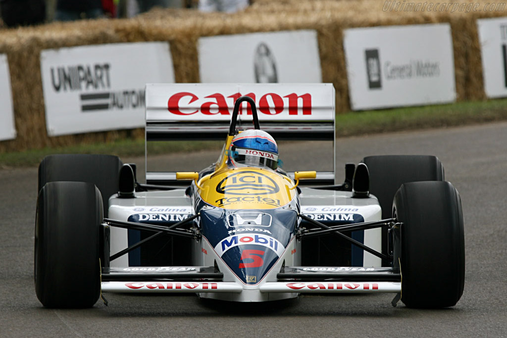 Williams FW11    - 2007 Goodwood Festival of Speed