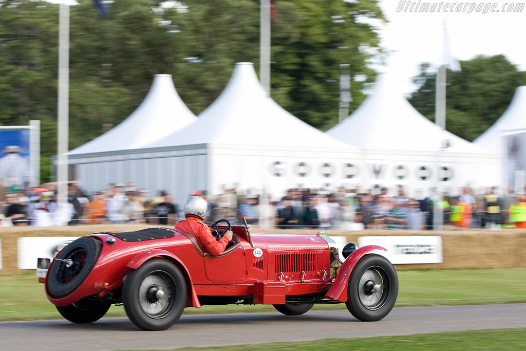 Alfa Romeo 8C 2300 Le Mans    - 2008 Goodwood Festival of Speed