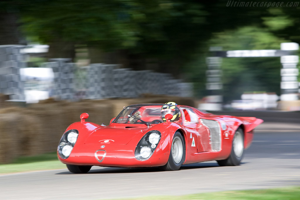 Alfa Romeo Tipo 33/2 Daytona - Chassis: 75033.012   - 2008 Goodwood Festival of Speed