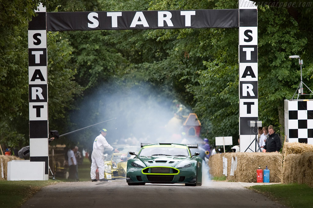 Aston Martin DBRS9    - 2008 Goodwood Festival of Speed