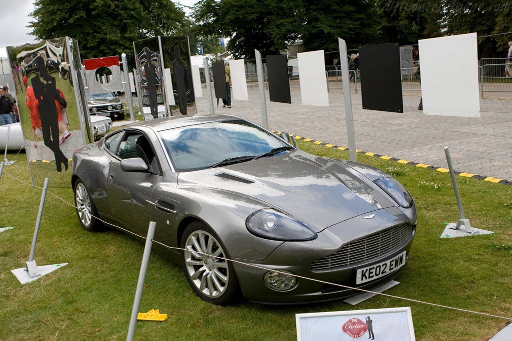Aston Martin Vanquish    - 2008 Goodwood Festival of Speed