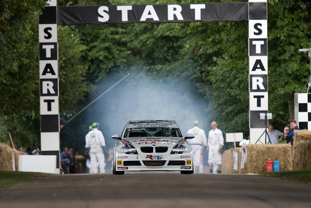 BMW 320si WTCC    - 2008 Goodwood Festival of Speed