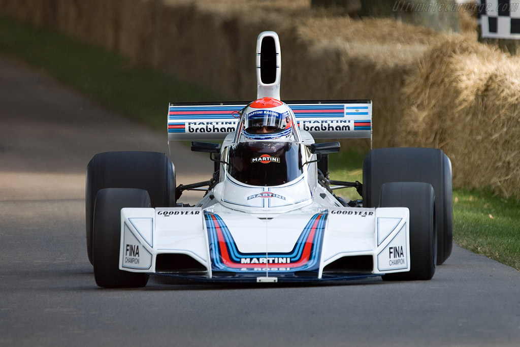Brabham BT42/44 Cosworth    - 2008 Goodwood Festival of Speed