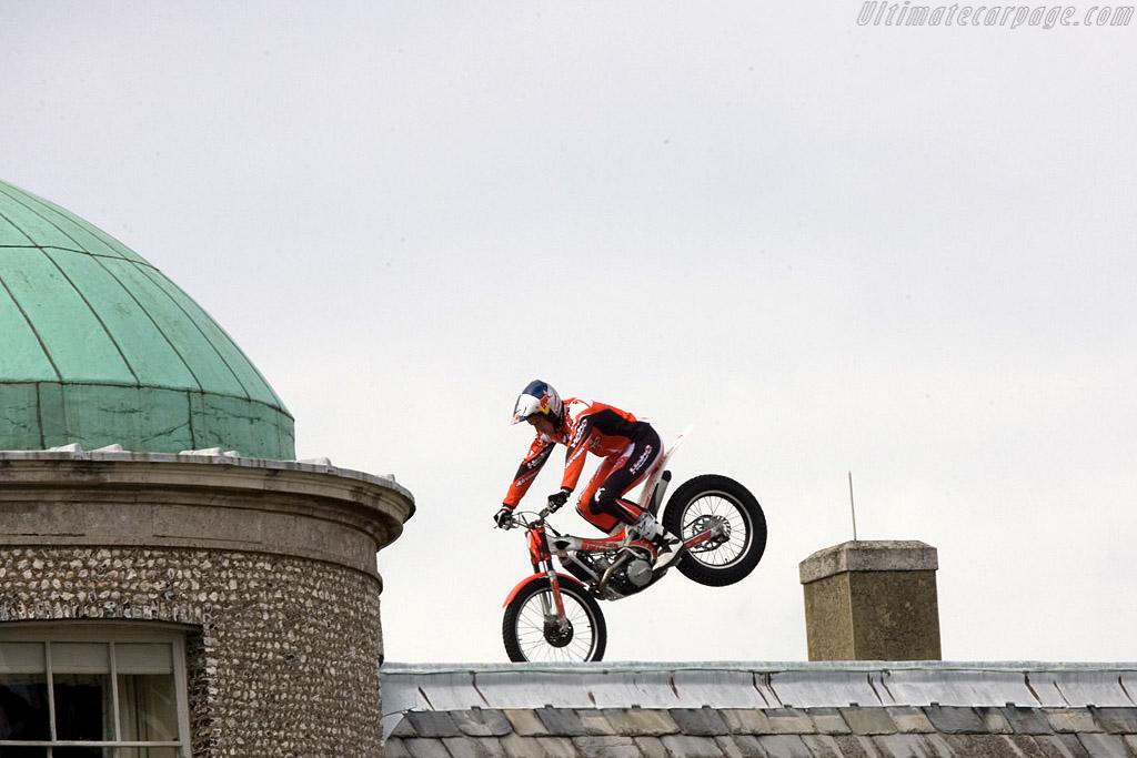 Dougie Lampkin    - 2008 Goodwood Festival of Speed