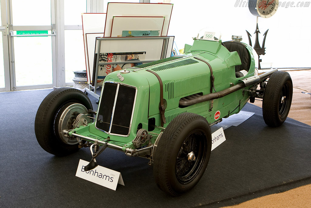 ERA R1A - Chassis: R1A   - 2008 Goodwood Festival of Speed