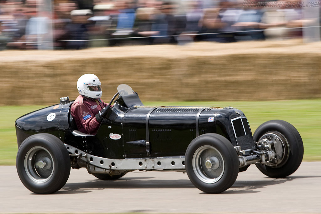 ERA R4D - Chassis: R4D   - 2008 Goodwood Festival of Speed