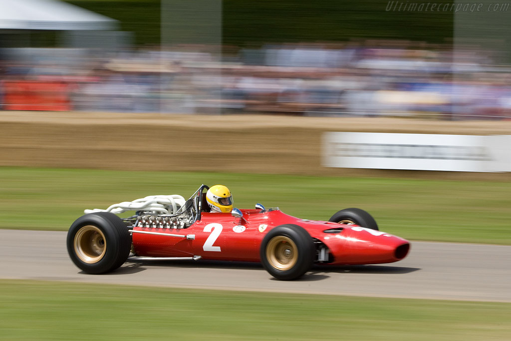 Ferrari 312 F1 - Chassis: 0007   - 2008 Goodwood Festival of Speed