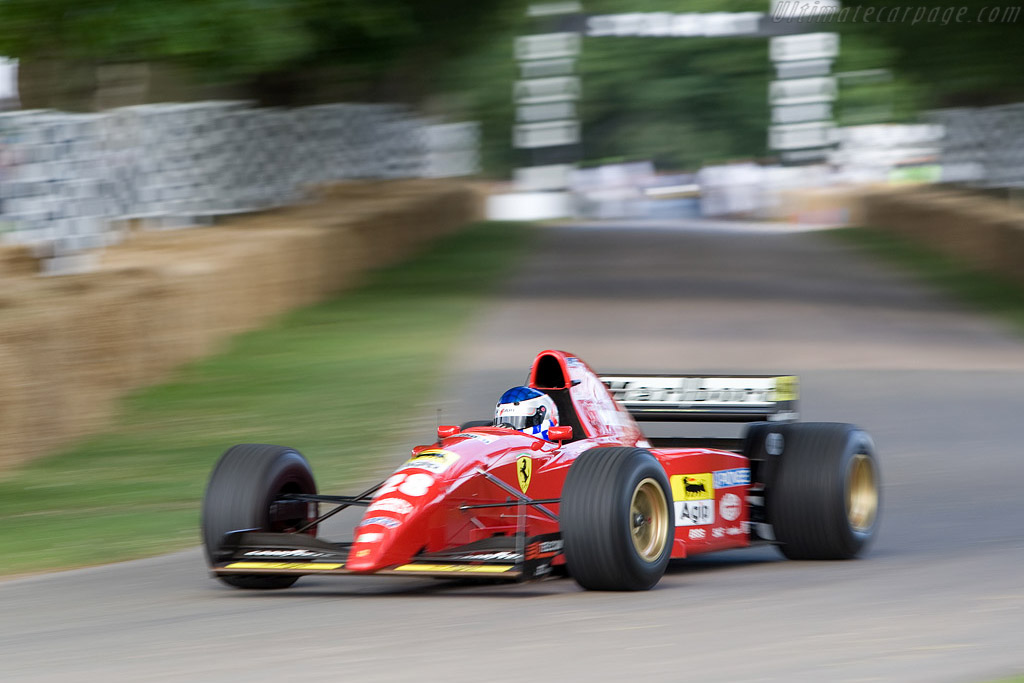 Ferrari 412 T2    - 2008 Goodwood Festival of Speed