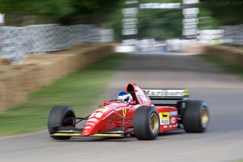 Ferrari 412 T2 - Chassis: 157  - 2008 Goodwood Festival of Speed