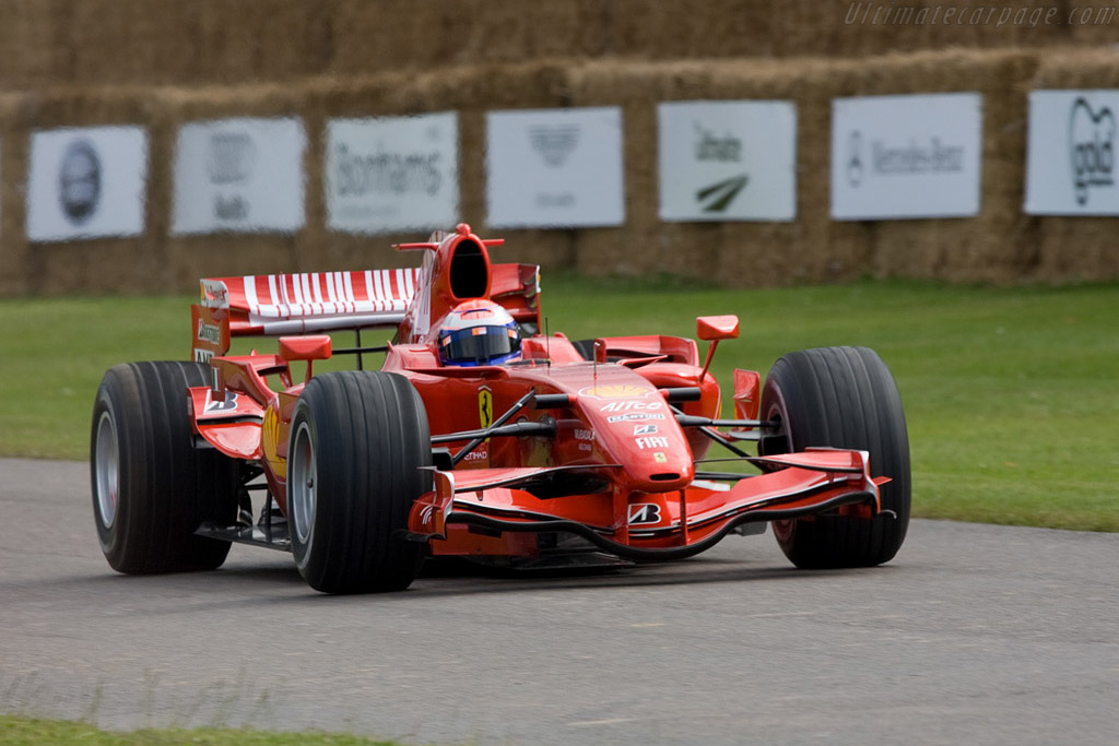 Ferrari F2007    - 2008 Goodwood Festival of Speed